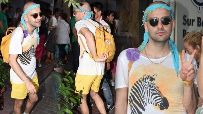 Cihangir'de LGBTİ partisi
