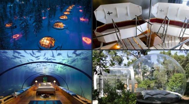 Dünyanın en güzel 35 oteli