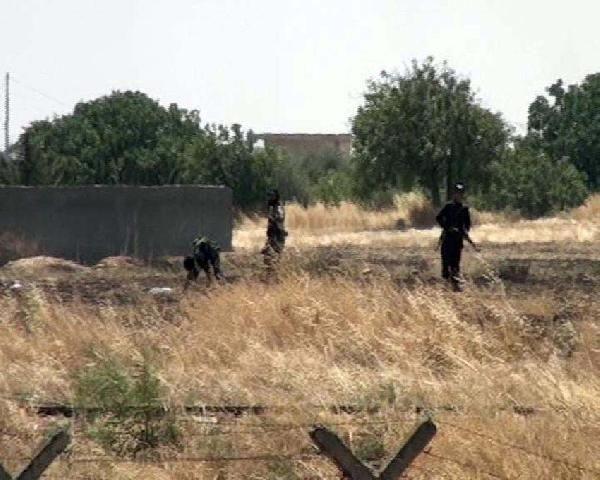 IŞİD'liler yine sınıra geldi