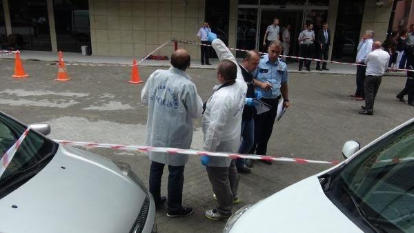 Adalet Bakanlığı'na pompalı tüfekle saldırı