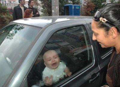 1 yaşında hayatının sınavını verdi