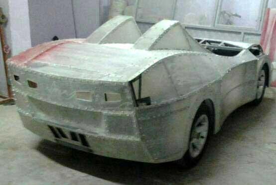 Oğlu akülü araba isteyince bunu yaptı!
