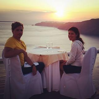 Yunanistan'da turistlerin keyfi yerinde