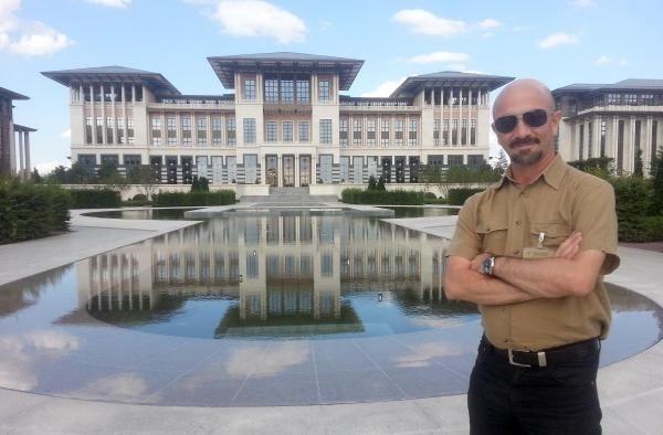 Cumhurbaşkanlığı Sarayı'nın kapıları açıldı işte odalar