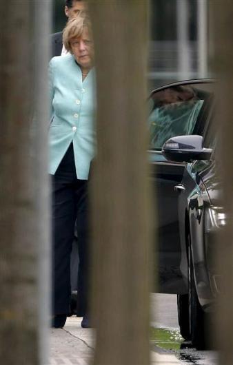Merkel görenleri şaşırttı