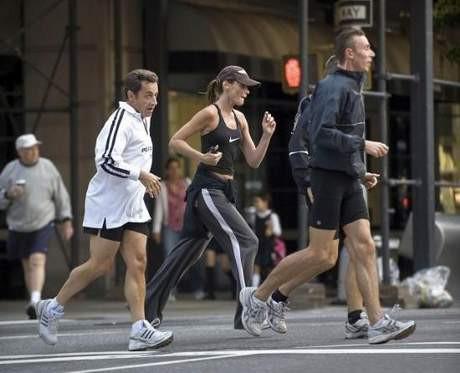 First Lady sabah koşusunda