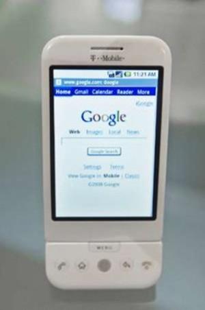 İşte Googleun cep telefonu