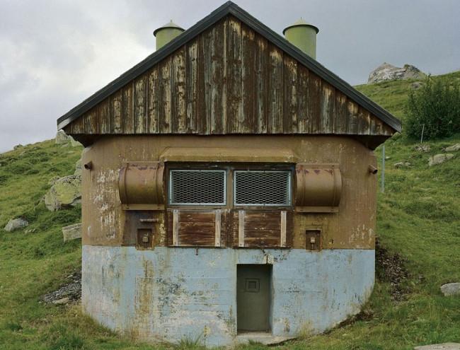 İşte İsviçre'nin askeri binaları