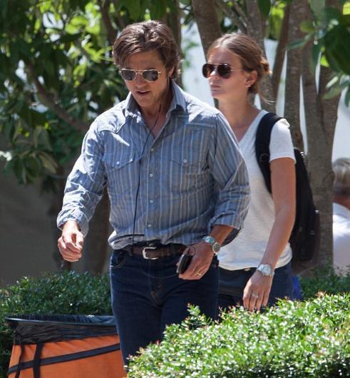 Tom Cruise'in yeni sevgilisi