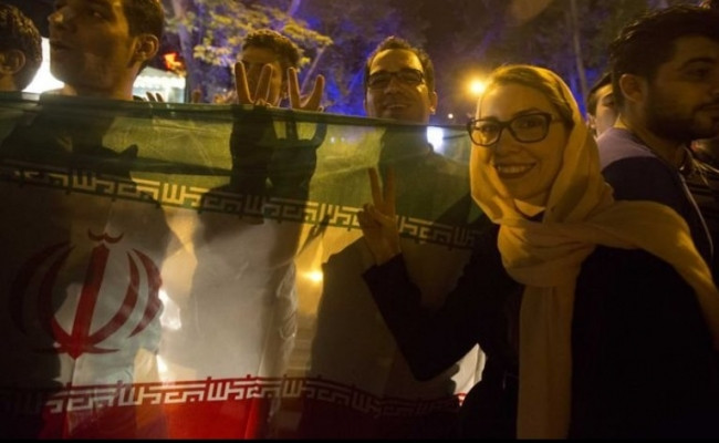 İran Nükleer anlaşma kutlandı
