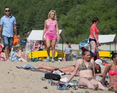 Çok nadir bulunan bir plaj