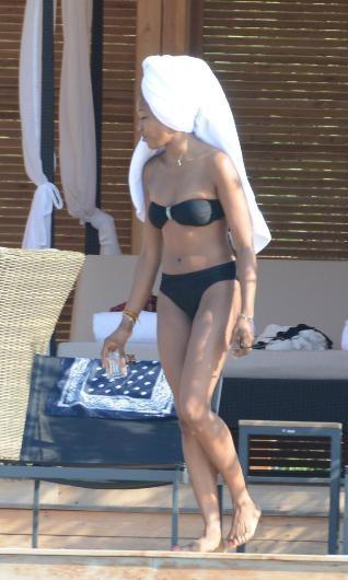 Naomi Campbell Bodrum'da