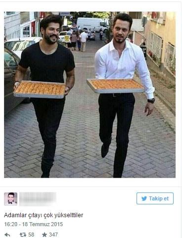 Paylaştıkları fotoğraflar sosyal medyada olay oldu