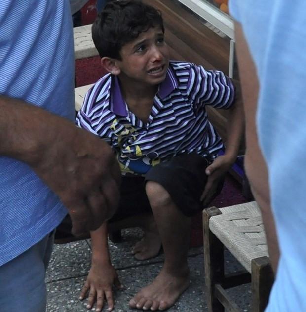 Esnafın dövdüğü Suriyeli çocuğa tatil hediyesi