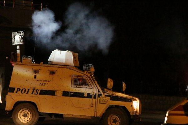 Diyarbakır ve Siirt'te polis karakolu, Nusaybin'de polise sald