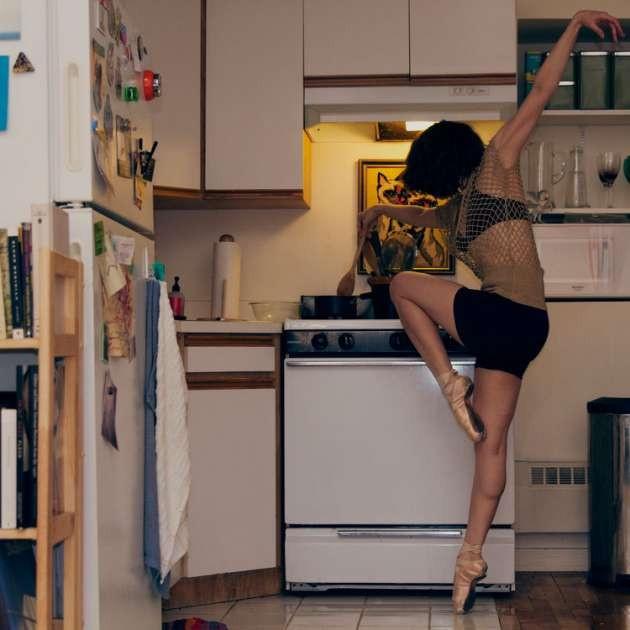 Dansçıların ev halleri görüntülendi