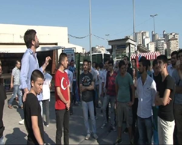 Turancı Hareket Platformu'ndan AK Parti karşıtı eylem