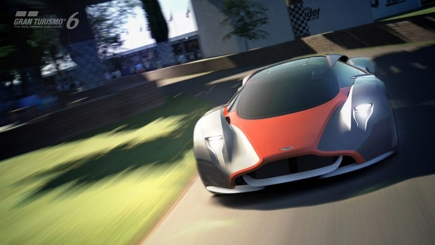 Aston Martin Gran Turismo DP-100 konsept tasarım