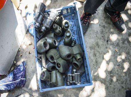 Ankara'da asker ve polise ait malzemeler ele geçirildi
