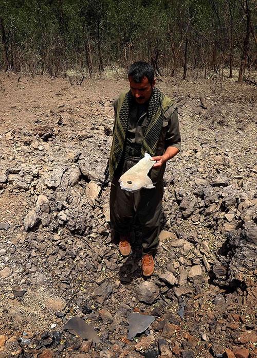 İşte bombardıman sonrası Kandil