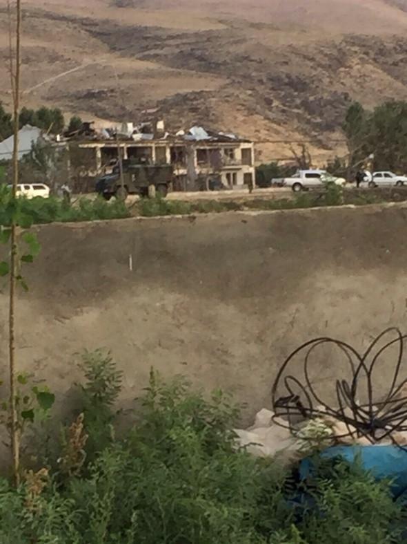 Hain saldırı hasar gün ağarınca ortaya çıktı