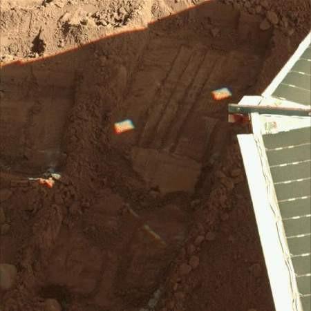 Mars'a kar yağıyor !