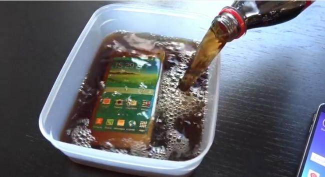 Galaxy S5 kola testinde