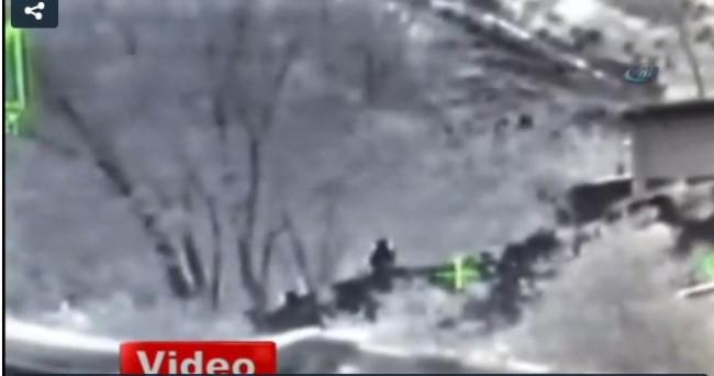 PKK'lılar böyle vuruldu