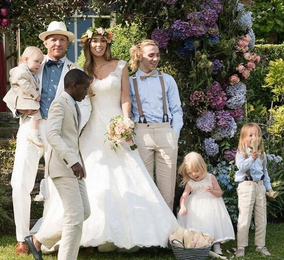 Guy Ritchie ve Jacqui Ainsley düğününün perde arkası