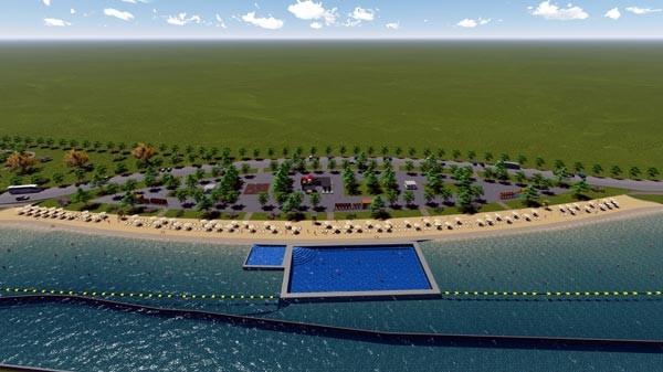 Denizsiz kentin plaj özlemi dinecek