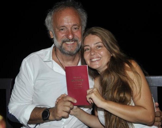 Sevilay Yılmaz ile Ege Aydan evlendi