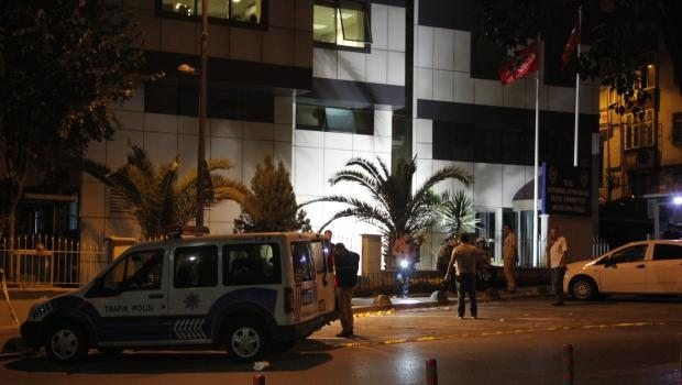 Bayrampaşa Emniyet Müdürlüğü önünde 2 ses bombası patladı