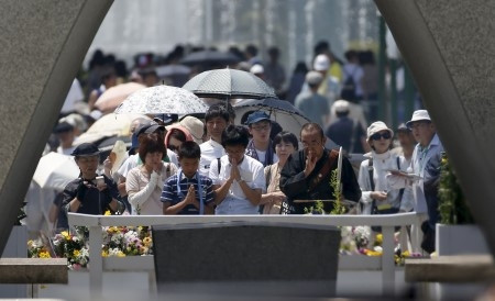 Hiroşima'nın üstünden 70 yıl geçti