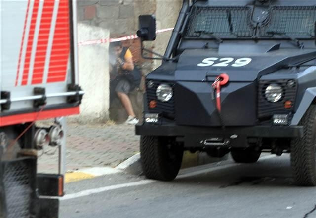 İstanbul'da çatışma anları