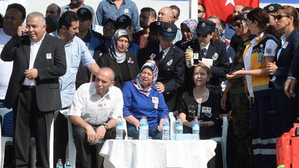 Şehit polis Aydın için tören düzenlendi