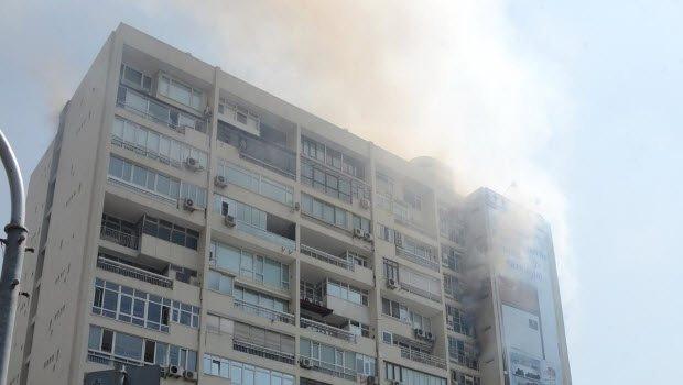 Mecidiyeköy Hukukçular Sitesi'nde yangın