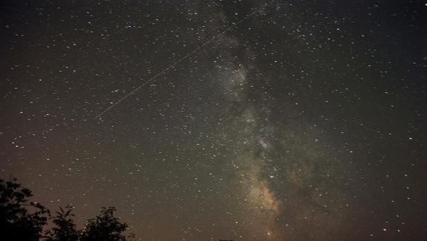 Vatandaşlar 'meteor yağmurunu' izledi