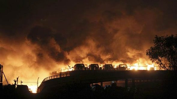 Çin'de büyük facia: En az 44 ölü, yüzlerce yaralı