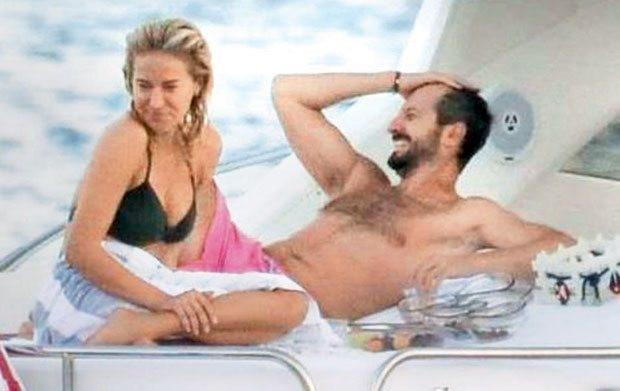 Burcu Esmersoy yeni sevgilisi Tuna Aksu ile ilk kez görüntülendi
