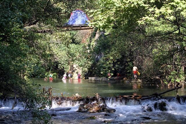 Muğla'da ilginç kamp yeri