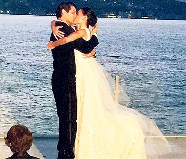 Saadet Işıl Aksoy ve Pamir Kıraner düğün yaptı