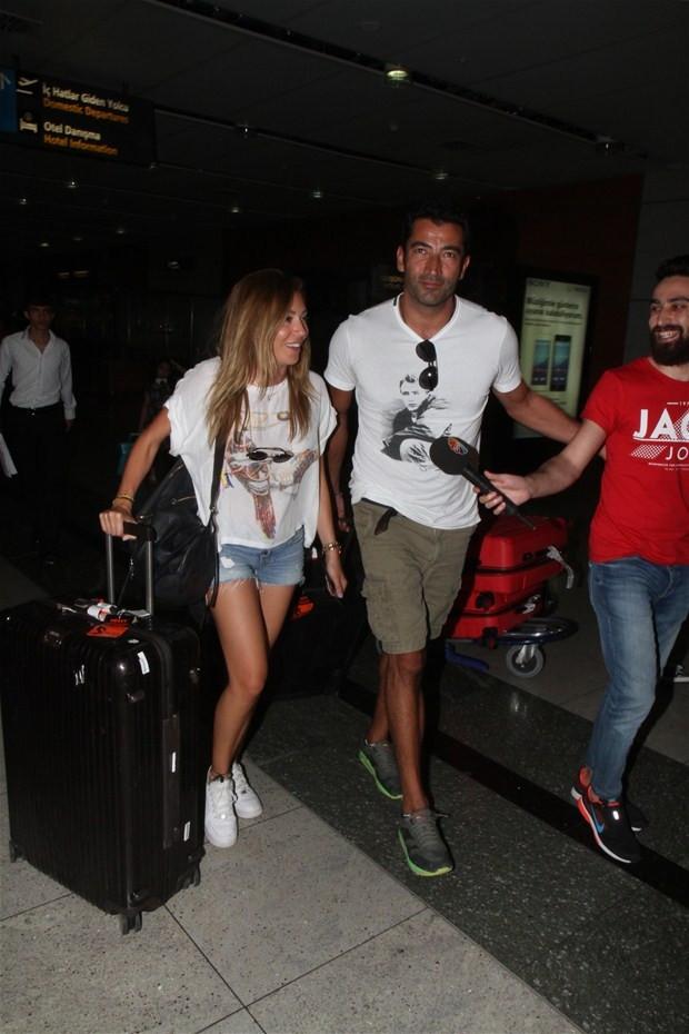 Kenan İmirzalıoğlu ve Sinem Kobal yine yakalandı