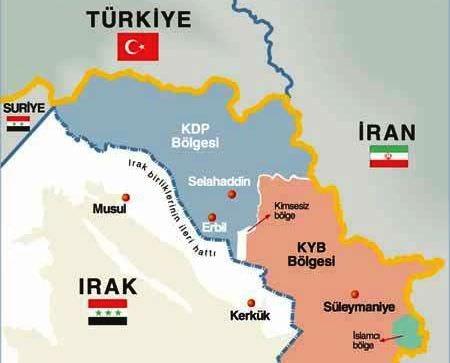 İşte MOSSAD'ın PKK üssü