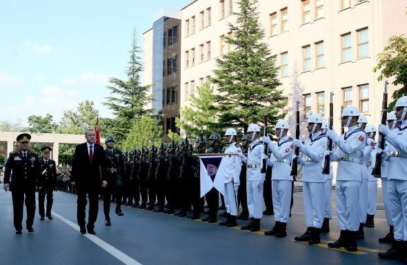 Genelkurmay Başkanlığı devir teslim töreni yapıldı