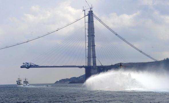 Yavuz Sultan Selim Köprüsü'nün son halleri