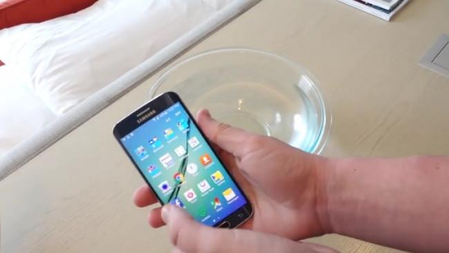 Galaxy S6 edge ne kadar suya dayanır?