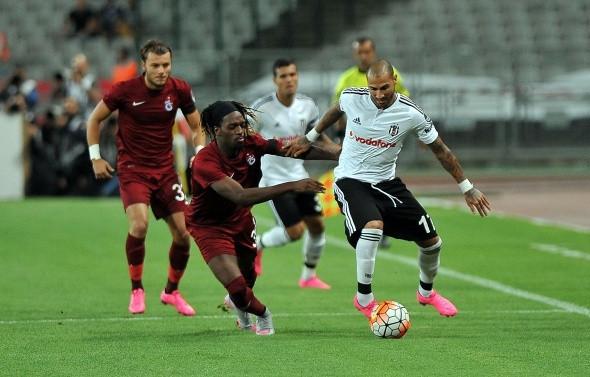 Beşiktaş-Trabzonspor maçı fotoğrafları