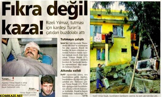 Türklere mahsus ölümler!