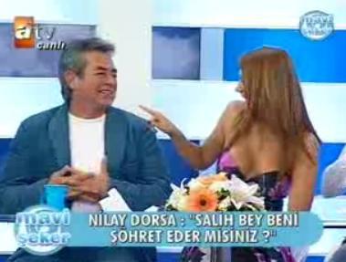 Nilay dorsa canlı yayında öptü !