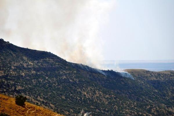 Sınırdan Türkiye'ye geçmeye çalışan PKK'lılara bomba yağdı